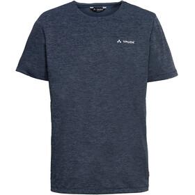 VAUDE Essential Bluzka z krótkim rękawem Mężczyźni niebieski